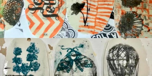 stampa su ceramica