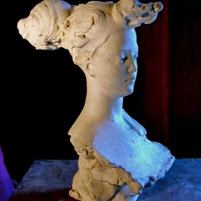 Paolo Gualandi, terracotta smaltata