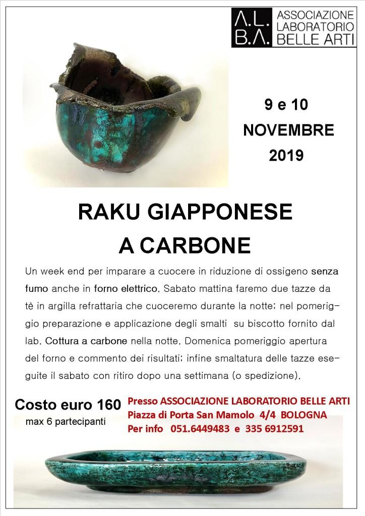 RAKU GIAPPONESE A CARBONE 19