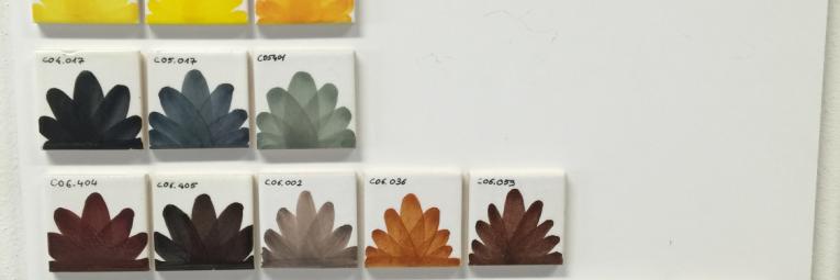 corso di decorazione su maiolica