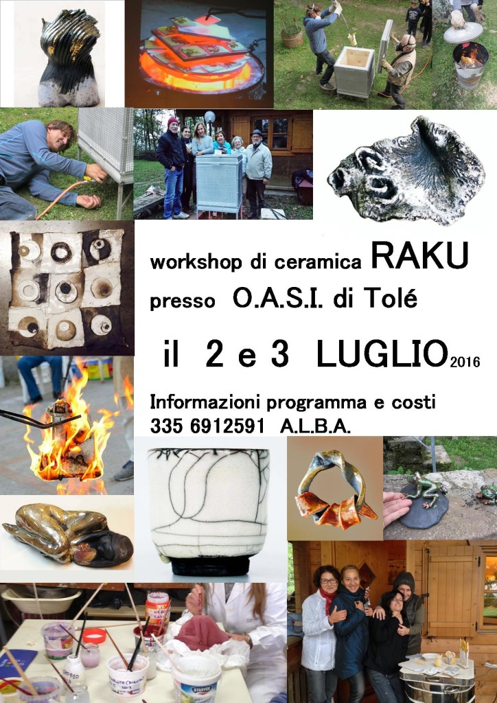 workshop ceramica raku